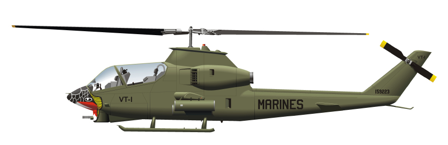 Marine Corps Hueys